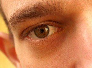 Photo of brown eye