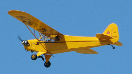 Piper Cub. Photo courtesy of  Jack Snell at Flickr.com.